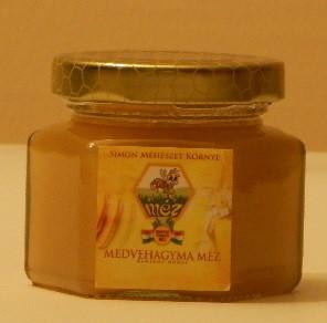 Medvehagyma méz (125g)